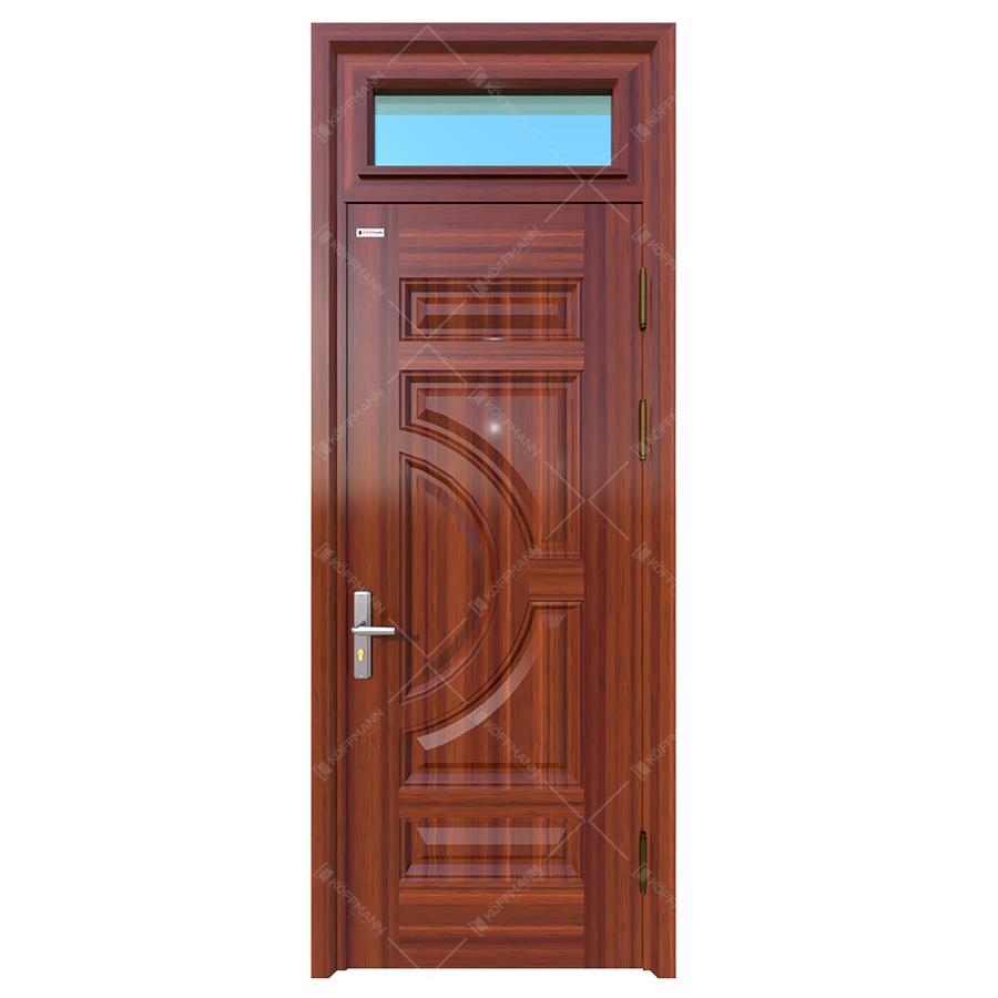 Cửa thép vân gỗ KG-1.01-1TK