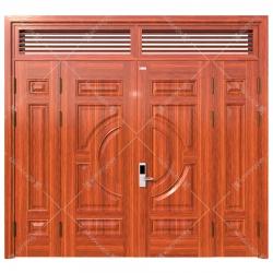 Cửa thép vân gỗ KG-41.01.03A-2NC-1
